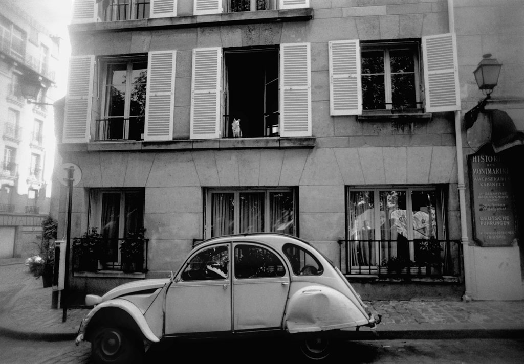 citroen 2cv  paris